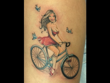 Pinup Color Thigh