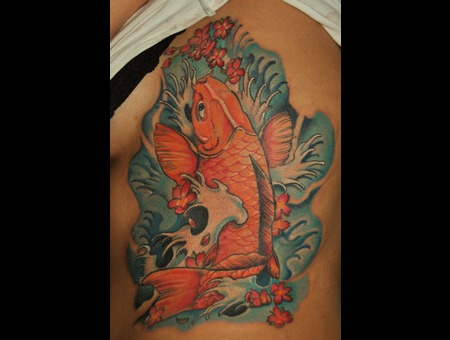 Koi Fish Color Ribs