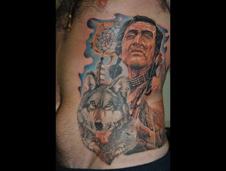 American Native Color Ribs