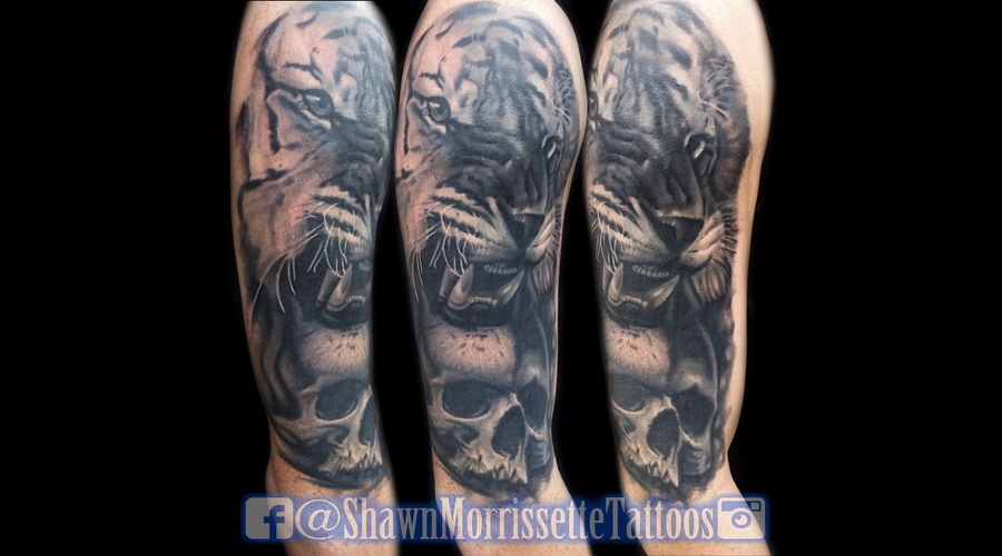 Opaque Black And Grey Cover Up Black Grey Arm