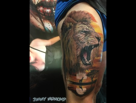 Lion Color Thigh