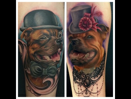 Dog Animal Color Forearm