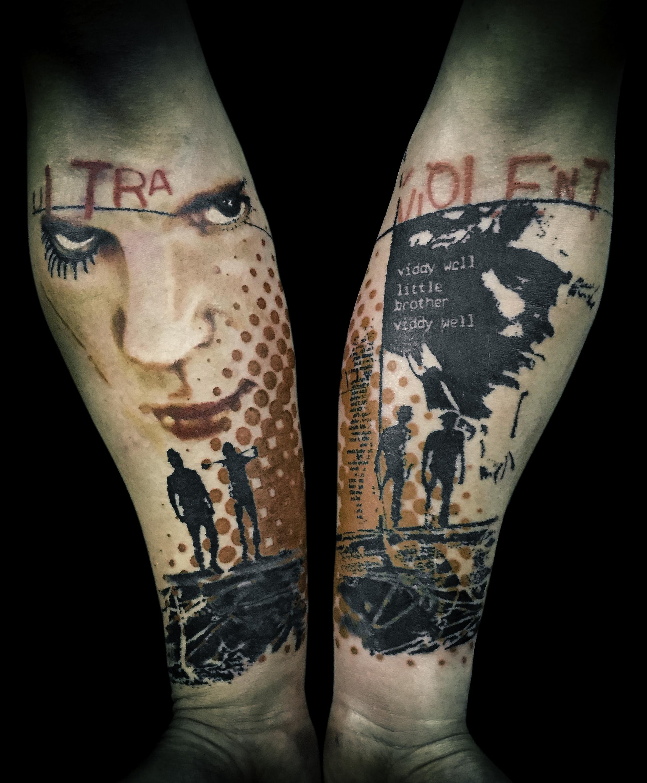 Trash Polka Tattoo: Certified Artist