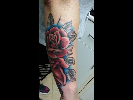 Roses Cover Up Color Forearm