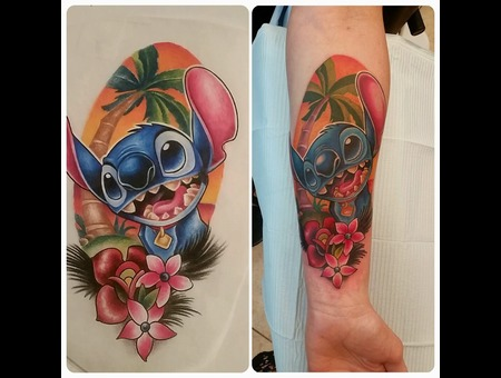 Disney  Lilo And Stitch  Color  Color Forearm