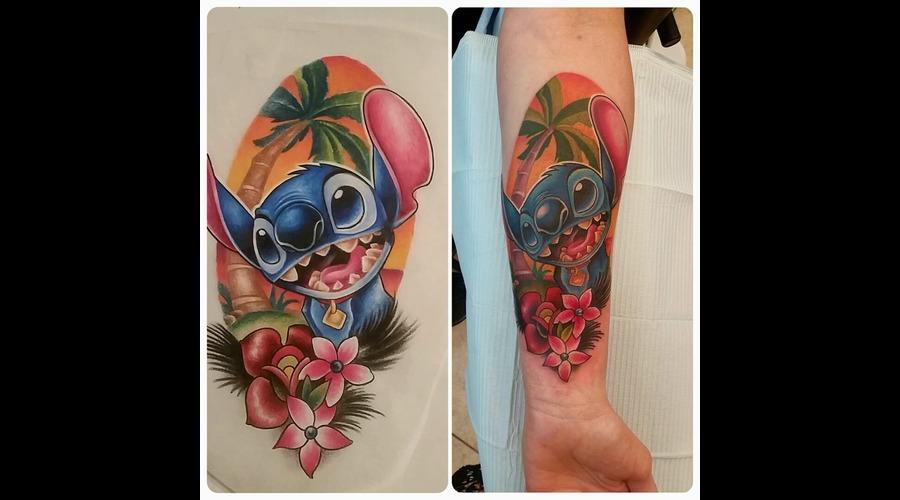 Disney  Lilo And Stitch  Color  Color Forearm
