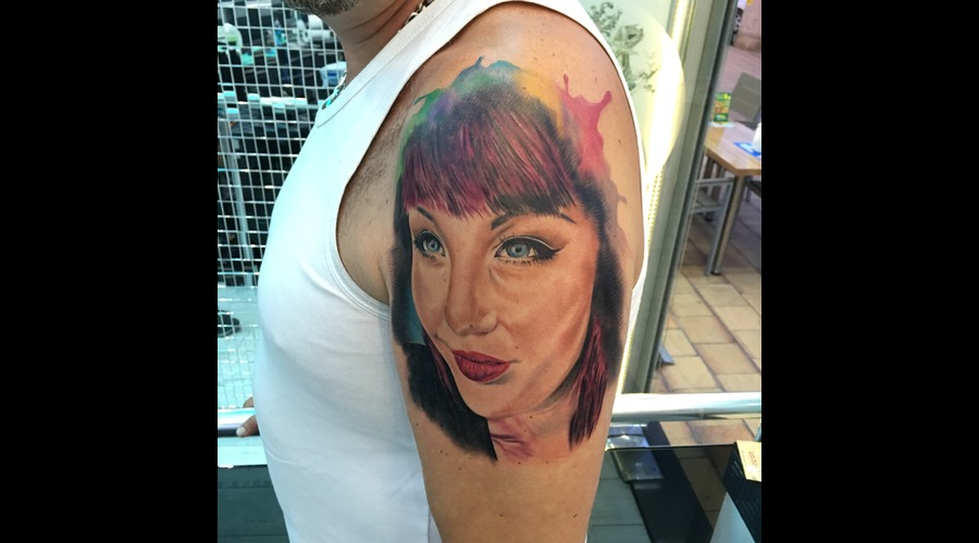 Cleopatra Ink Tattoo Color Arm