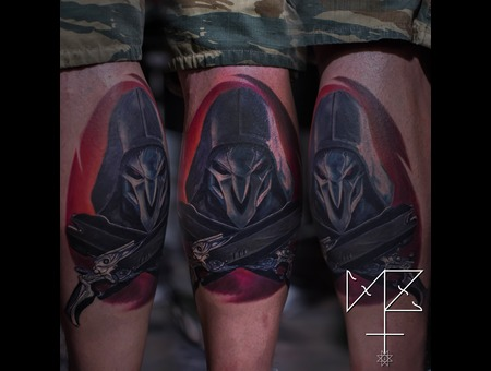 Reaper  Overwatch Lower Leg