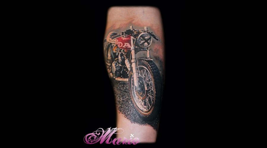 Cafe Racer Color Forearm
