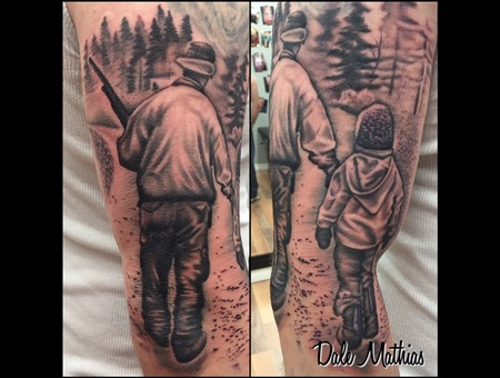 Black And Grey  Realism  Sleeve  Memorial Black Grey Arm