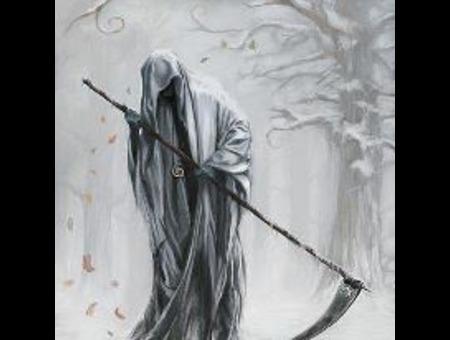 La Muerte Black White