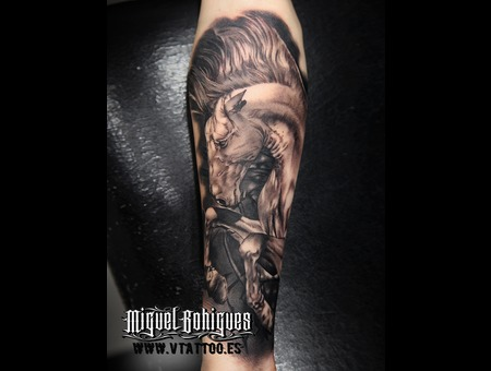 Horse  Realism Black Grey