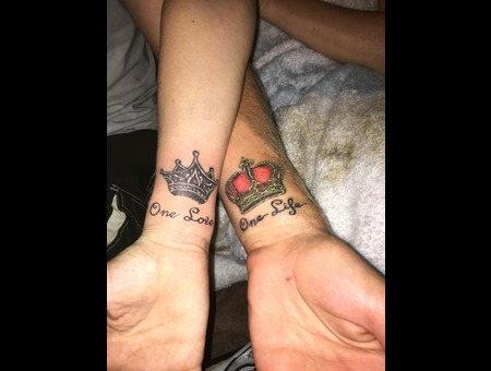 Crowns His Hers Crowns Color Forearm