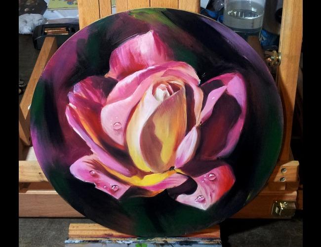 Portrait  Realistic  Rose