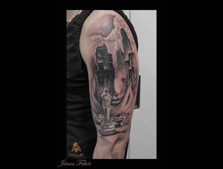 King City Black Grey Arm