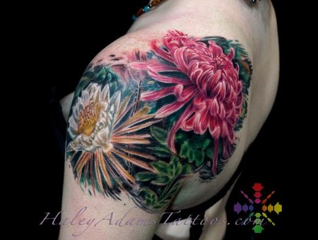 Flowers Color Shoulder