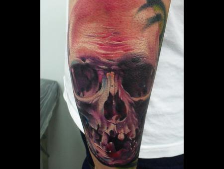 Portrait  Realistic  Skull