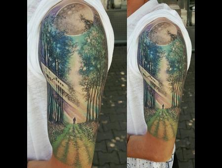 Nature  Divine  Trees Color Arm