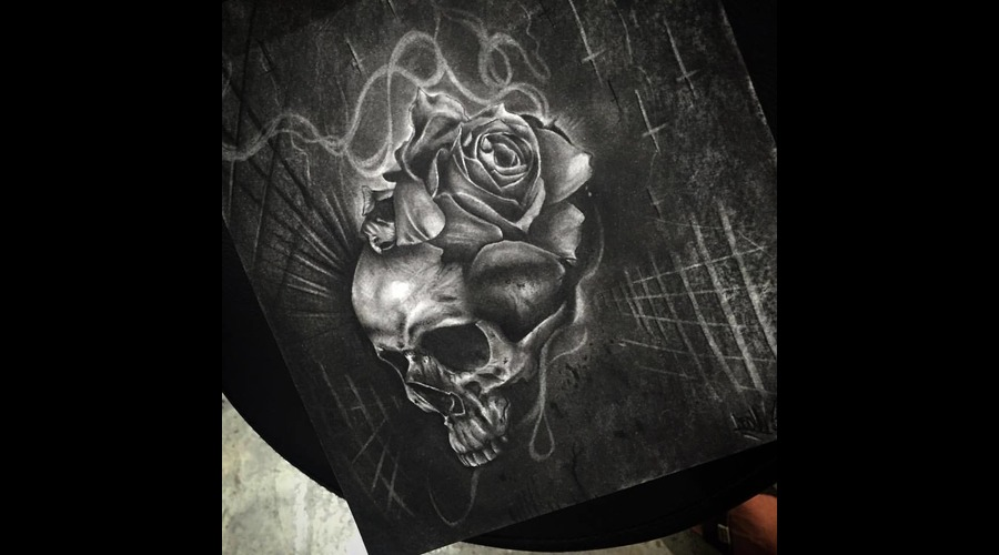 Proyect Tattoo Desing Black Grey