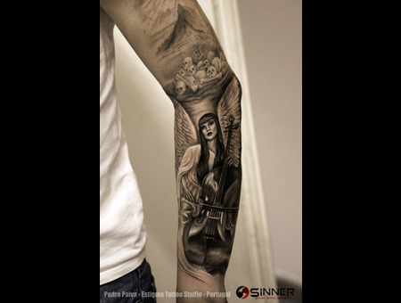 Coal Chamber  Cello  Angel Forearm