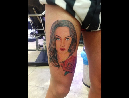 Face Tattoo Tattomarmaris Artinctattoo Marmaris Tattoo Color Lower Leg