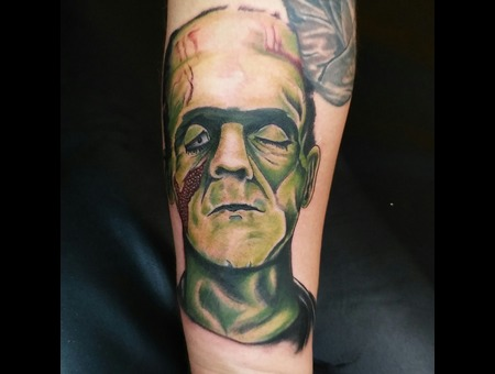 Horror Color Forearm Grankenstein Color Forearm