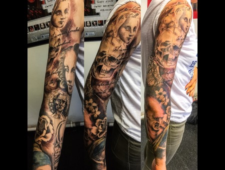 Davinci Vermeer Sleeve Color Arm