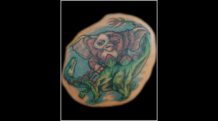 Gizmo  Gremlins  Dinosaur  Stegosourus   Color Back