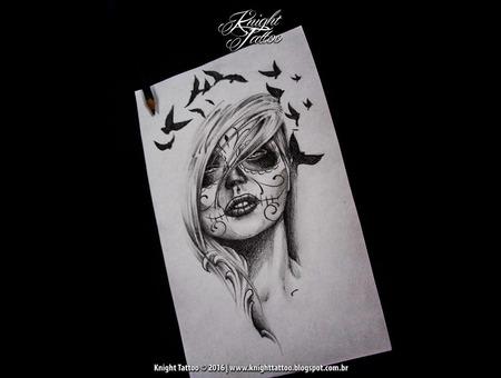 #Sketches  #Catrina