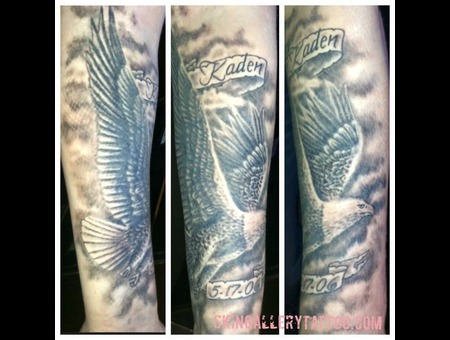 Eagle Usa Bald Eagle Veteran Freedom Birds Son Power America Whoopass Flite Black Grey Forearm
