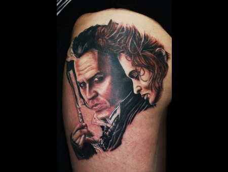 Sweeny Todd Portrat