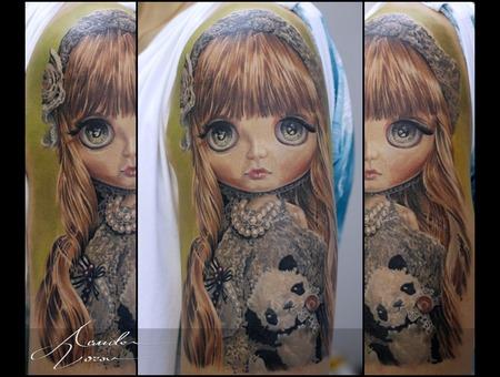 Blythe  Doll Color Shoulder