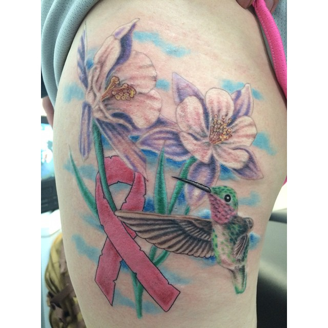 Breast Cancer Survivor Has Hummingbird Tattoo To Cover: Certified Artist