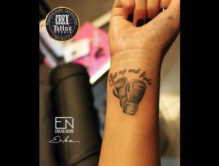 Erkan  Nehir  Tattoo  Artist  Dövmeci  Marmaris  Turkey Black Grey Arm