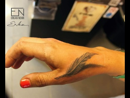 Erkan  Nehir  Tattoo  Artist  Dövmeci  Marmaris  Turkey Black Grey Arm