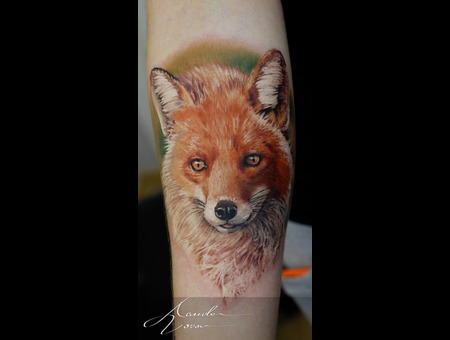 Fox  Vixen Color Forearm