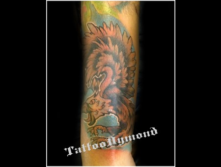 Eagle   Color Forearm