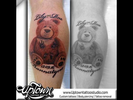 Teddy  Realism  Memorial  Color Lower Leg