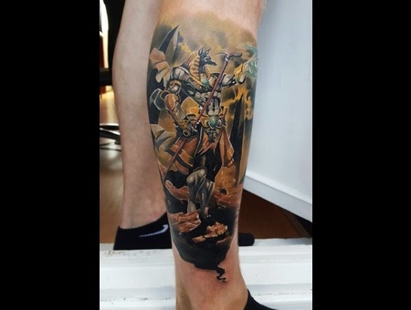 Anubis Aleksanderkuchumov84 Color Lower Leg