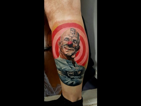 Clown Crazy Target Aleksanderkuchumov84 Color Lower Leg