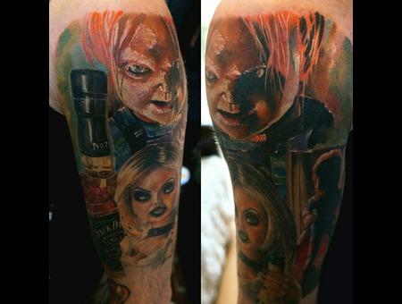 Chucky Brideofchucky Aleksanderkuchumov84 Color Arm