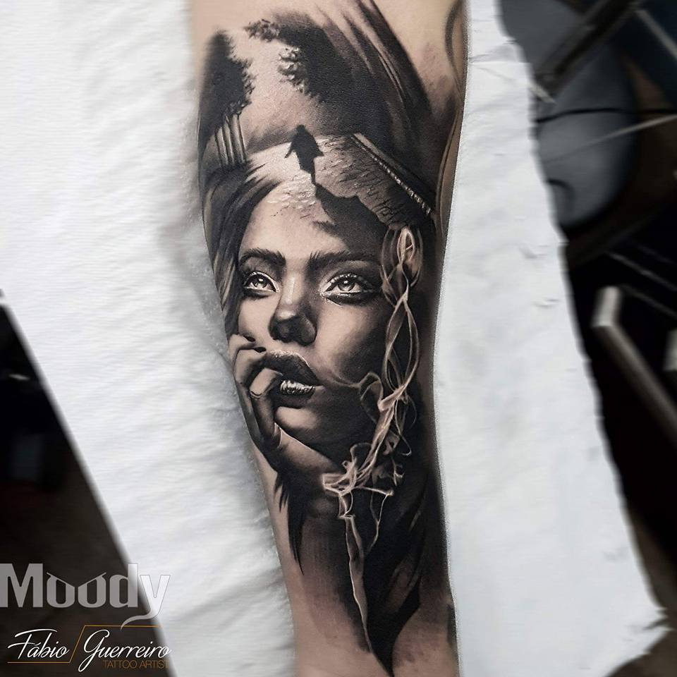 Realism Tattoo For Woman: Certified Artist