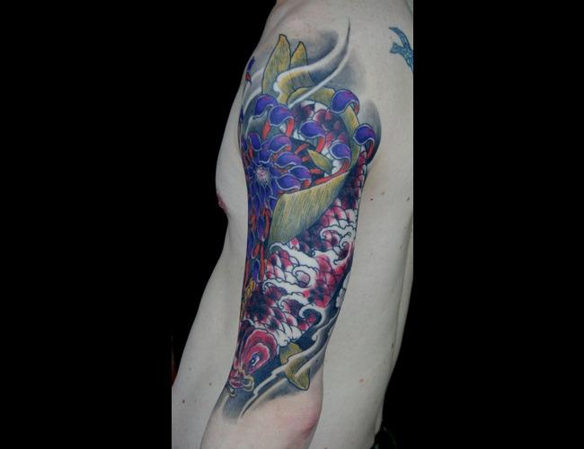 Koi Color Tattoo Color