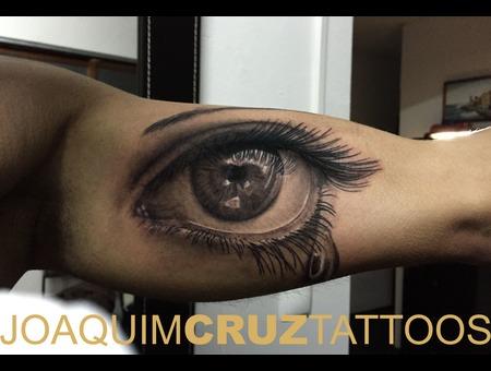 Eye Black Grey Arm