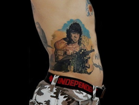 John Rambo Color Ribs