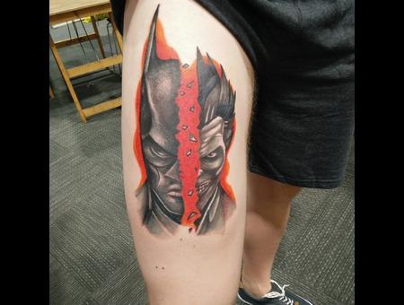Dc Comics Batman Vs The Joker Color Thigh