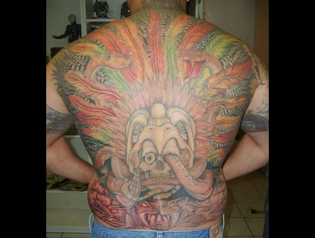 Aztec Eagle Headdress