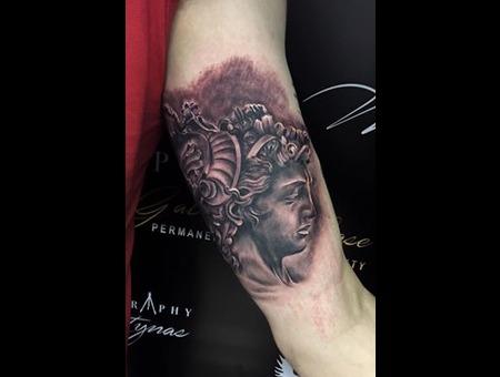 Realism Black Grey Arm