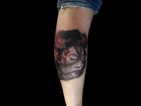 Geisha Color Lower Leg