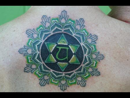 Heart Chakra Color